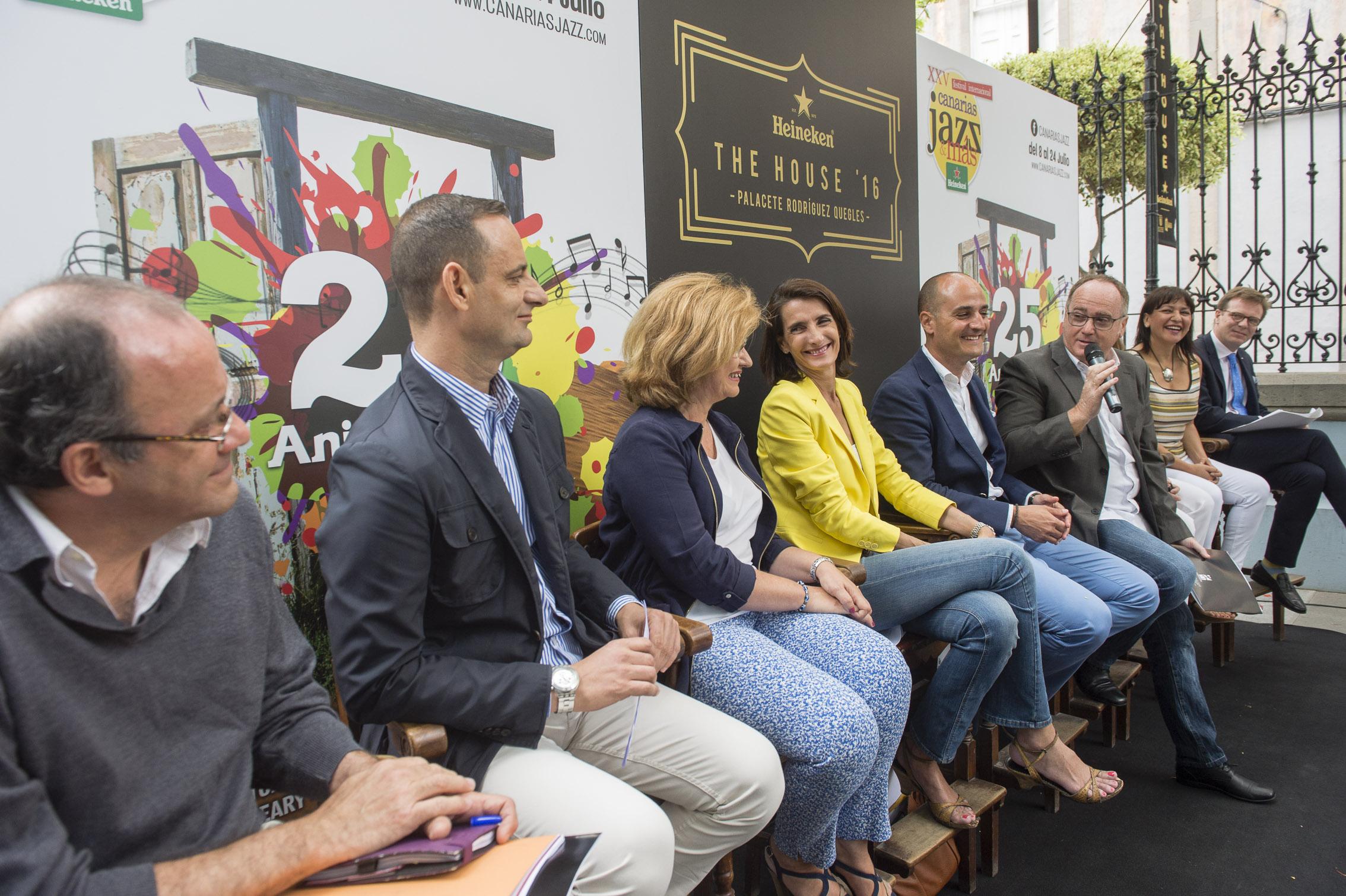 Presentada la XXV edición del Festival Internacional Canarias Jazz & Más Heineken
