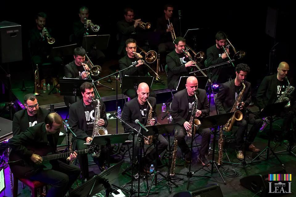 Big Band de Canarias con Errol Woiski en el Teatro Guimerá