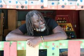 Jamaique. Kingston. 03/2015. Enregistrement de l'album de Tiken Jah Fakoly.