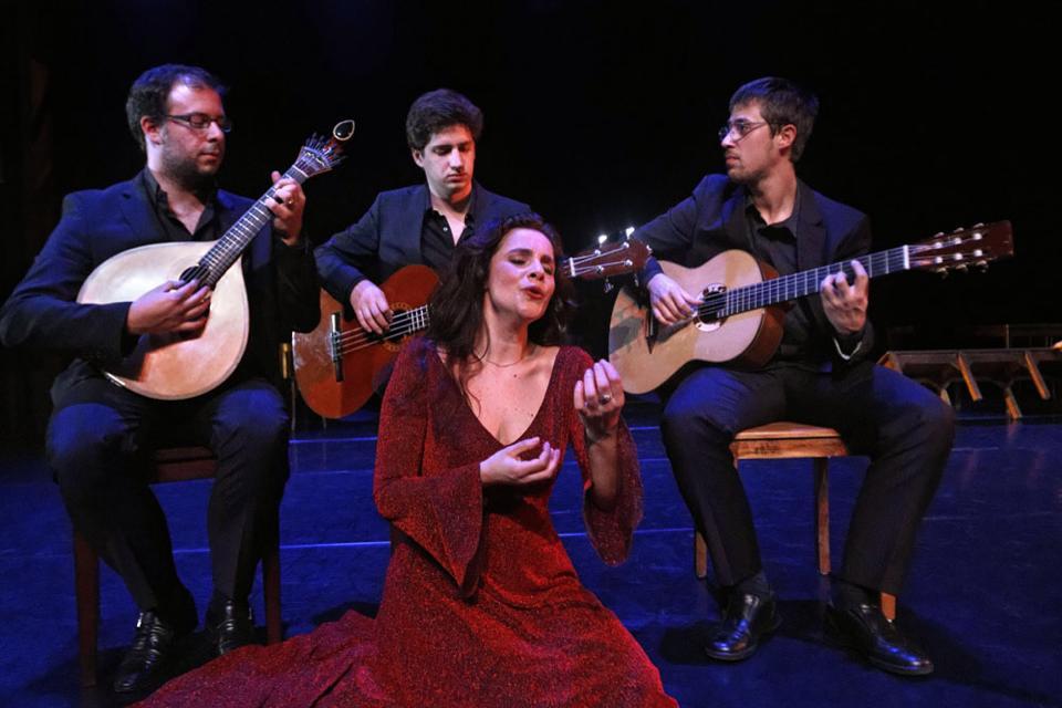 Carla Pires en Tenerife dentro del Festival Calles de Fado