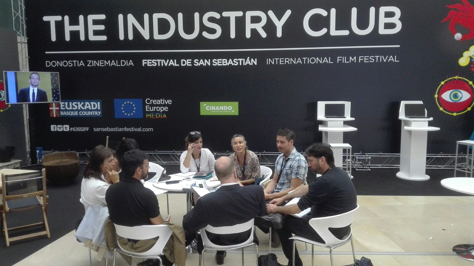 Canarias promociona sus ventajas fiscales en el Festival de Cine de San Sebastián
