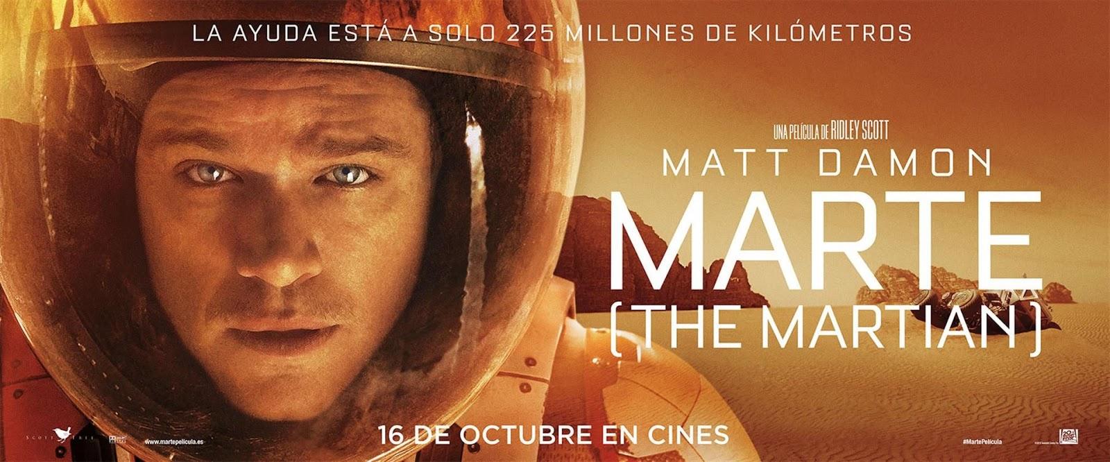 Resultado de imagen de La película Marte