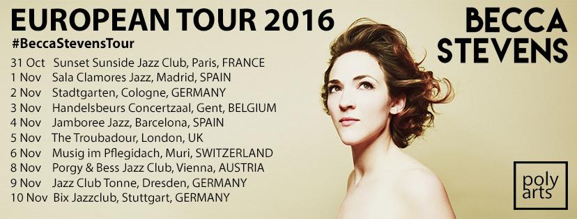 La norteamericana Becca Stevens toca en Madrid y Barcelona.
