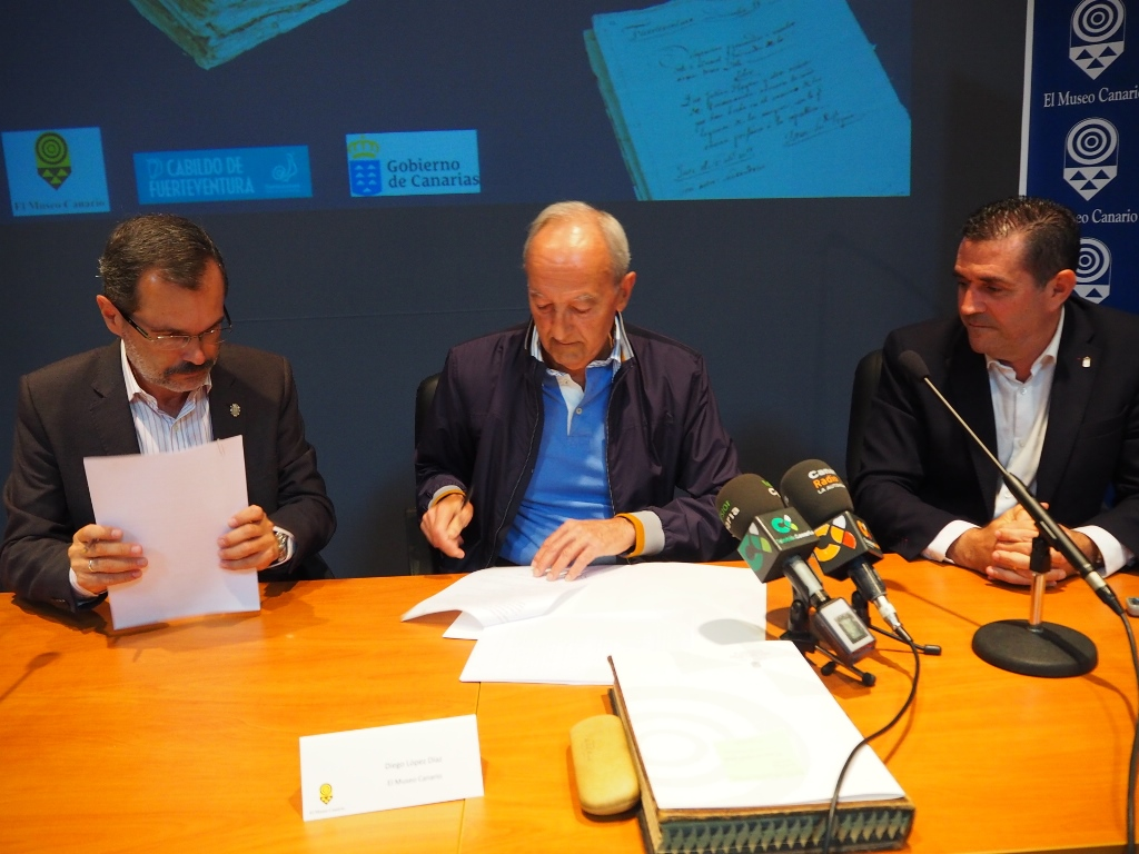 Fuerteventura recibe del Museo Canario el antiguo Archivo de Betancuria
