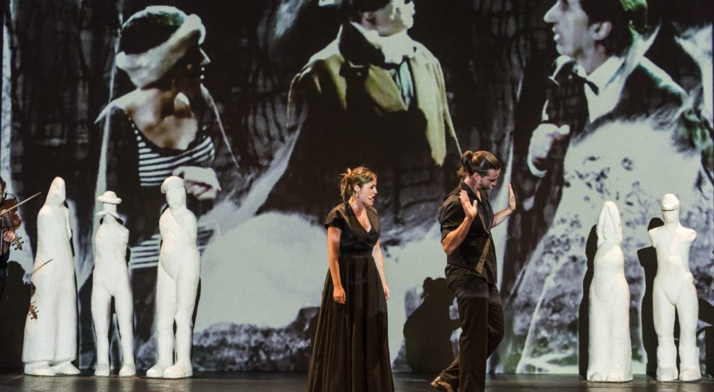 La Fura dels Baus con 'Free Bach 212', en el Auditorio de Tenerife