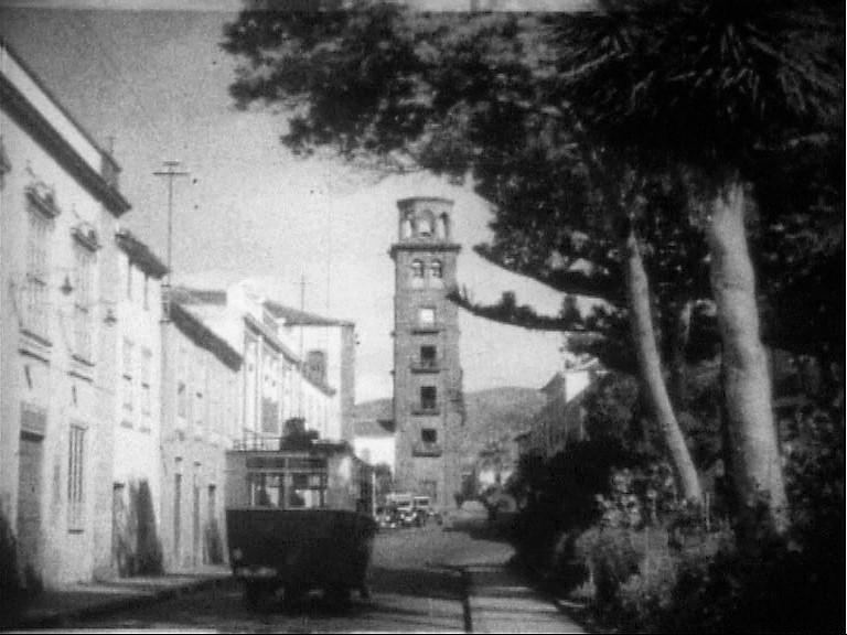 Imágenes antiguas de La Laguna recuperadas por Filmoteca Canaria