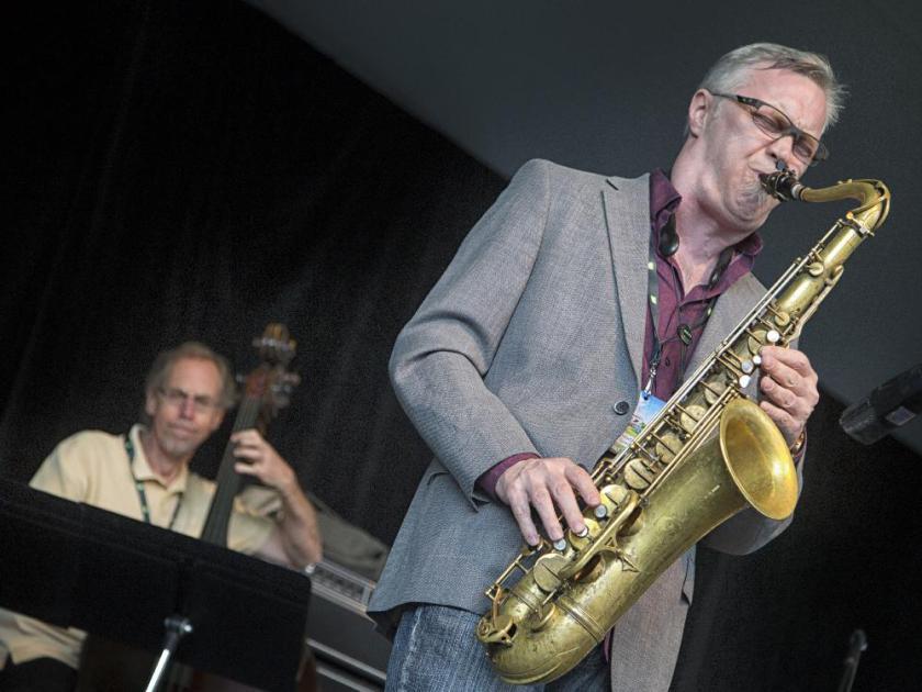 Kirk MacDonald y Bobby Martinez en el Bogui Jazz (Madrid)