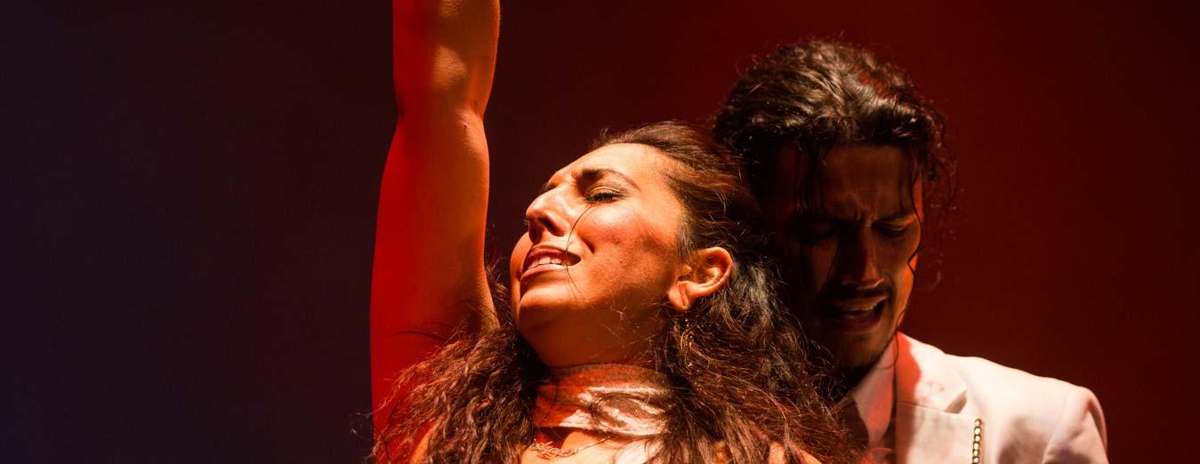 Antonio de Verónica y Saray Cortés, gira Puro flamenco en Puerto de la Cruz