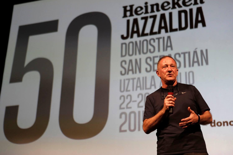 Miguel Martín del Festival Jazzaldía, Medalla de Oro de las Bellas Artes