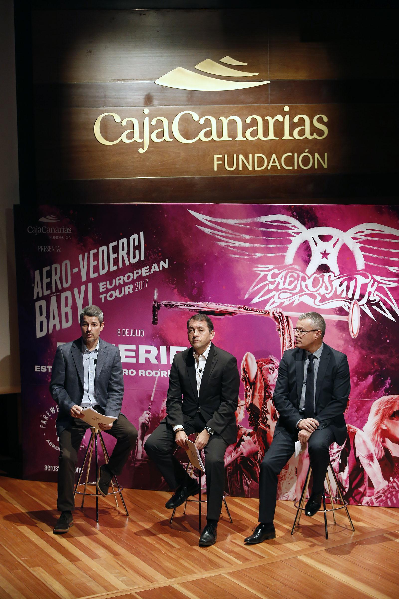 """La gira """"Aero-Vederci Baby Tour"""" de Aerosmith se clausura en Tenerife"""