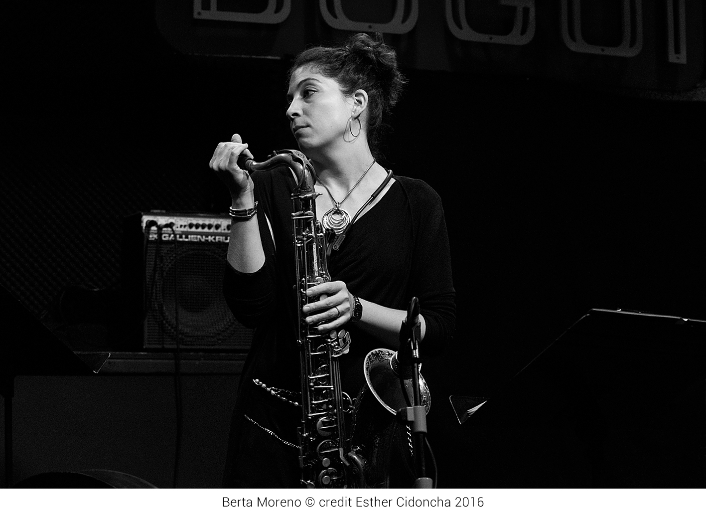 Berta Moreno presenta su disco 'Little Steps' en Valencia