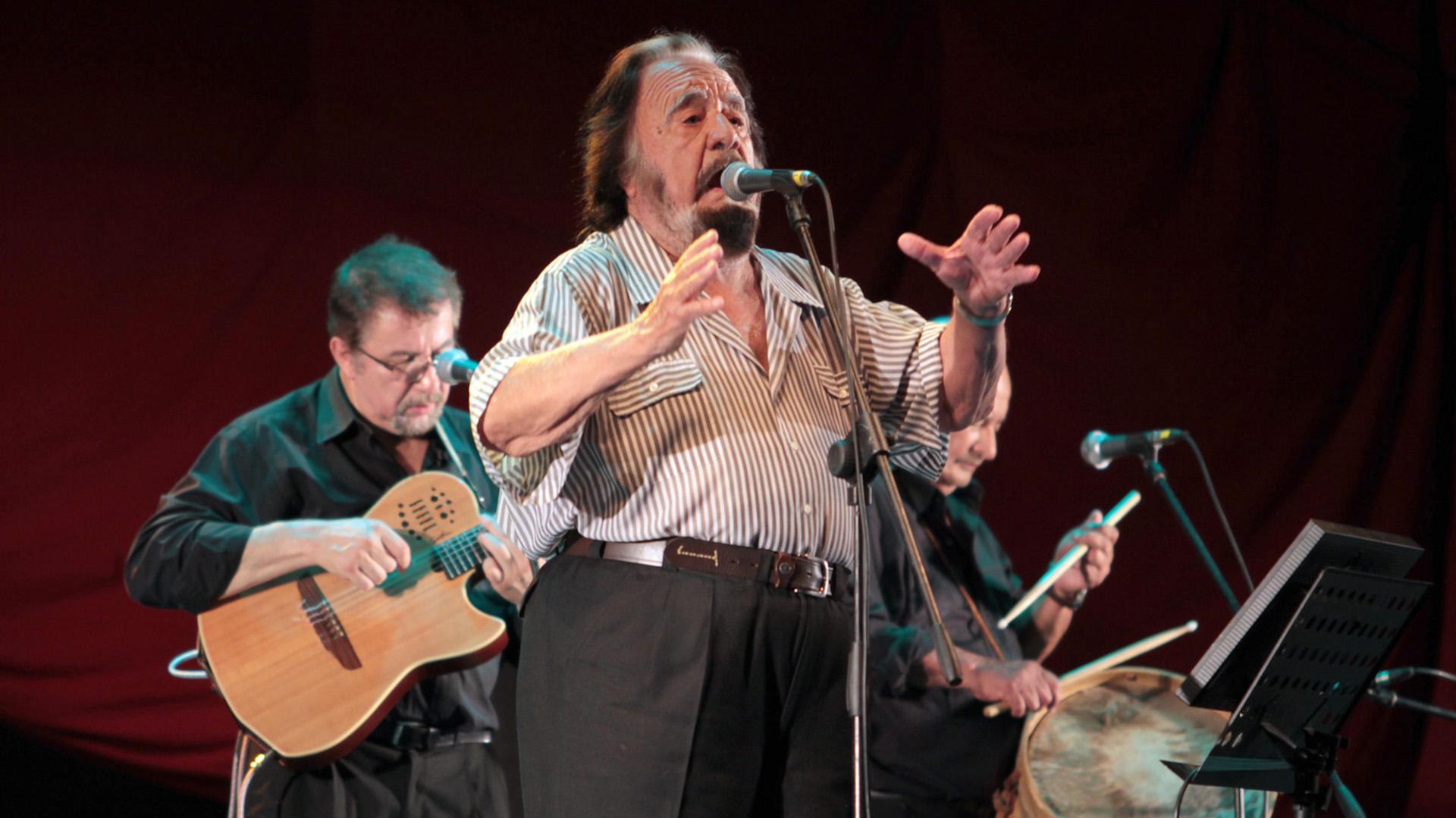 Horacio Guarany fallece a los 91 años de edad
