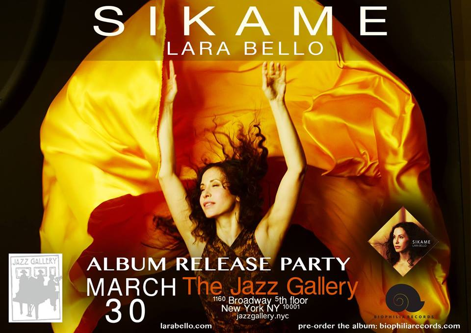 La granadina Lara Bello presenta en New York su disco 'Sikame'