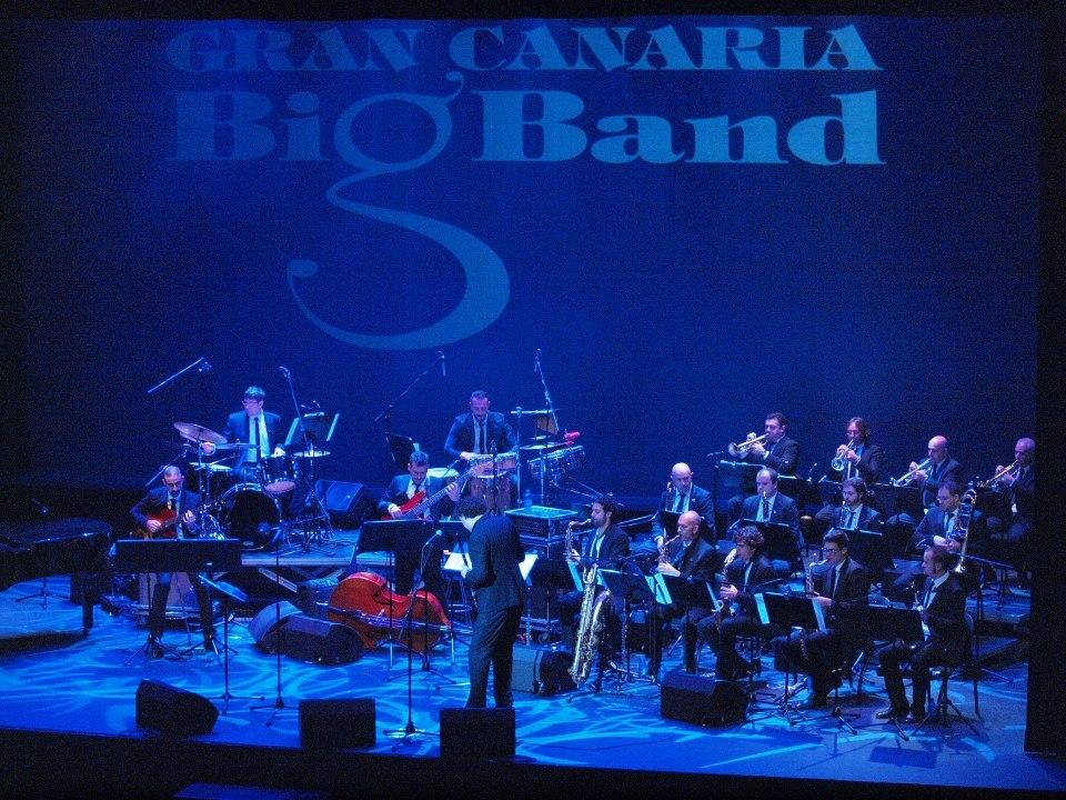 La Gran Canaria Big Band grabará su nuevo disco en el CICCA
