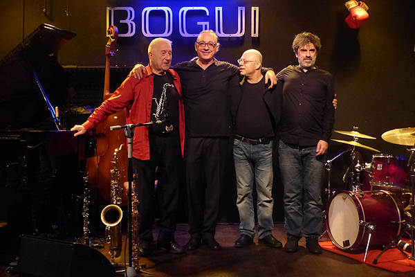 Pedro Iturralde vuelve a Bogui Jazz