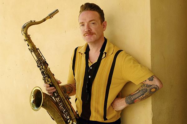 Dani Nel·lo publica su disco 'Saxofonistas salvajes'