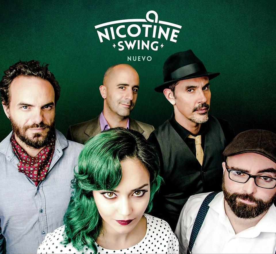 Nicotine Swing y Alexis Lemes band en el Arrecife Jazz Festival