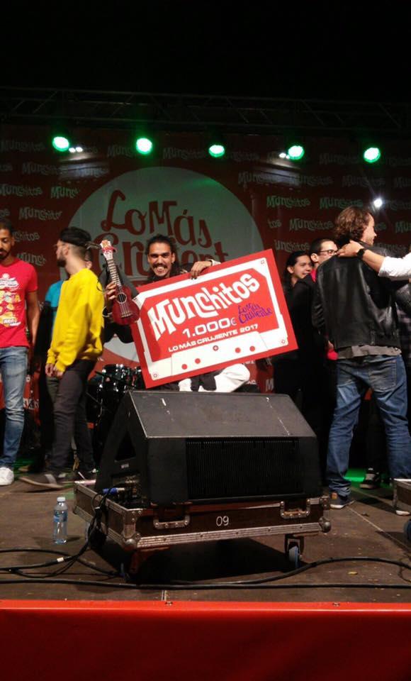 Aniba gana el premio de Lo más crujiente
