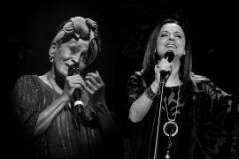 Omara Portuondo y Olga Cerpa