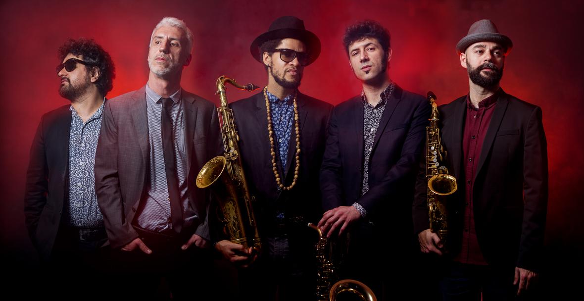 Los Saxos del Averno en Bogui Jazz