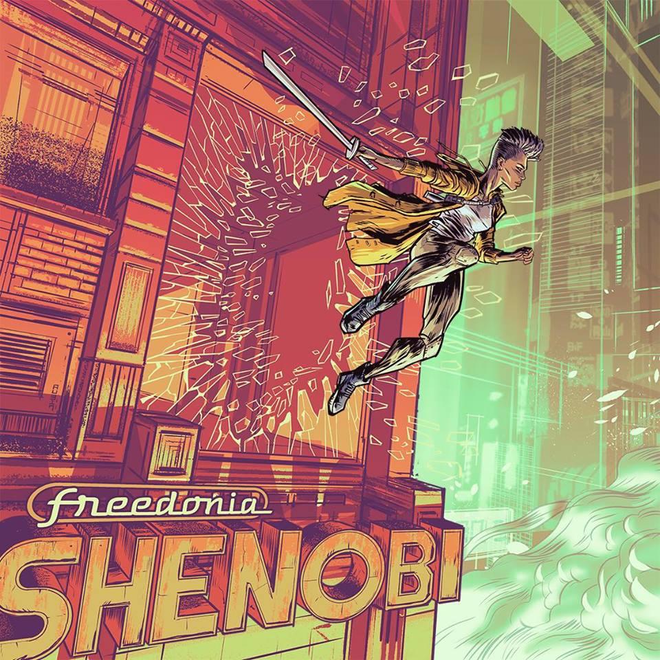 Freedonia presenta Shenobi en Joy Eslava (Madrid)