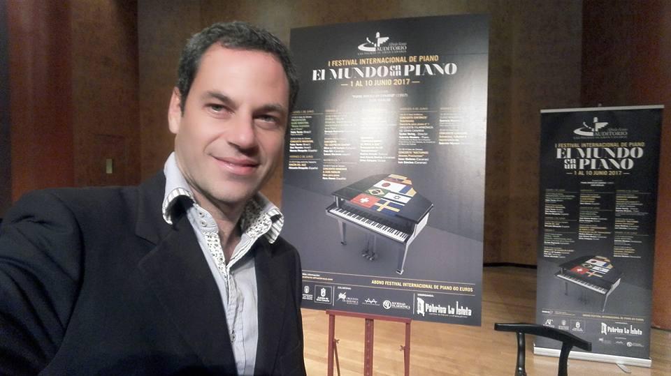 I Festival Internacional de Piano en el Auditorio Alfredo Kraus