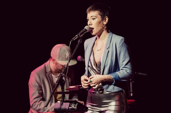 Miryam Latrece y David Sancho en el Bogui Jazz