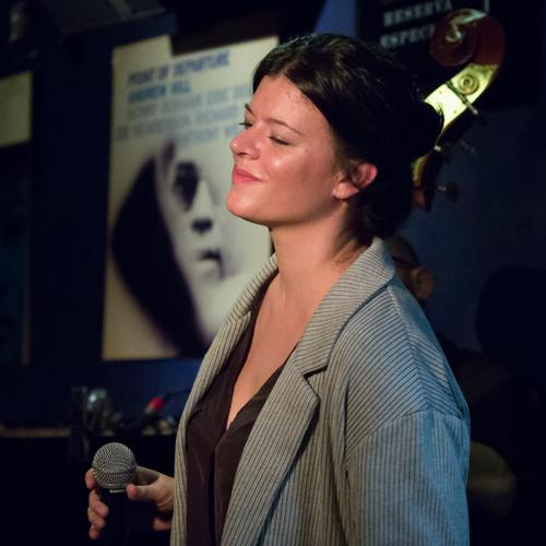 Cecilia Krull y Juan Sebatián Vázquez en el Bogui Jazz