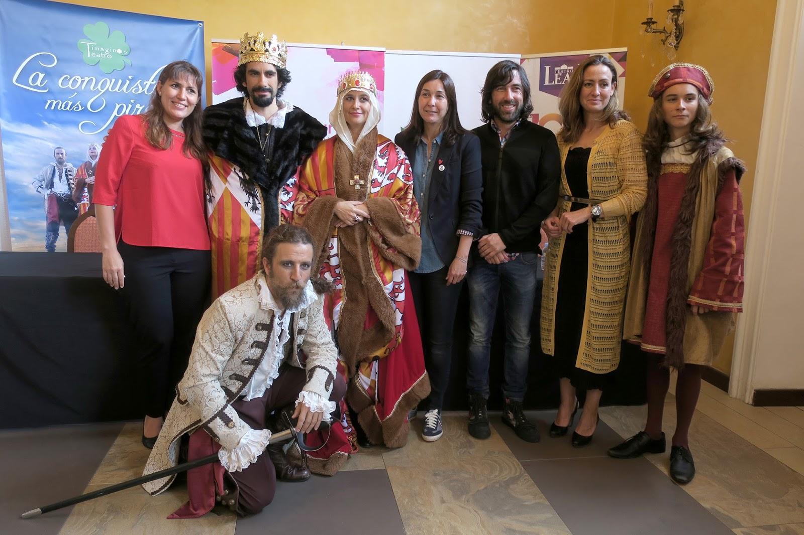 Timaginas Teatro presenta La conquista más pirata en La Laguna