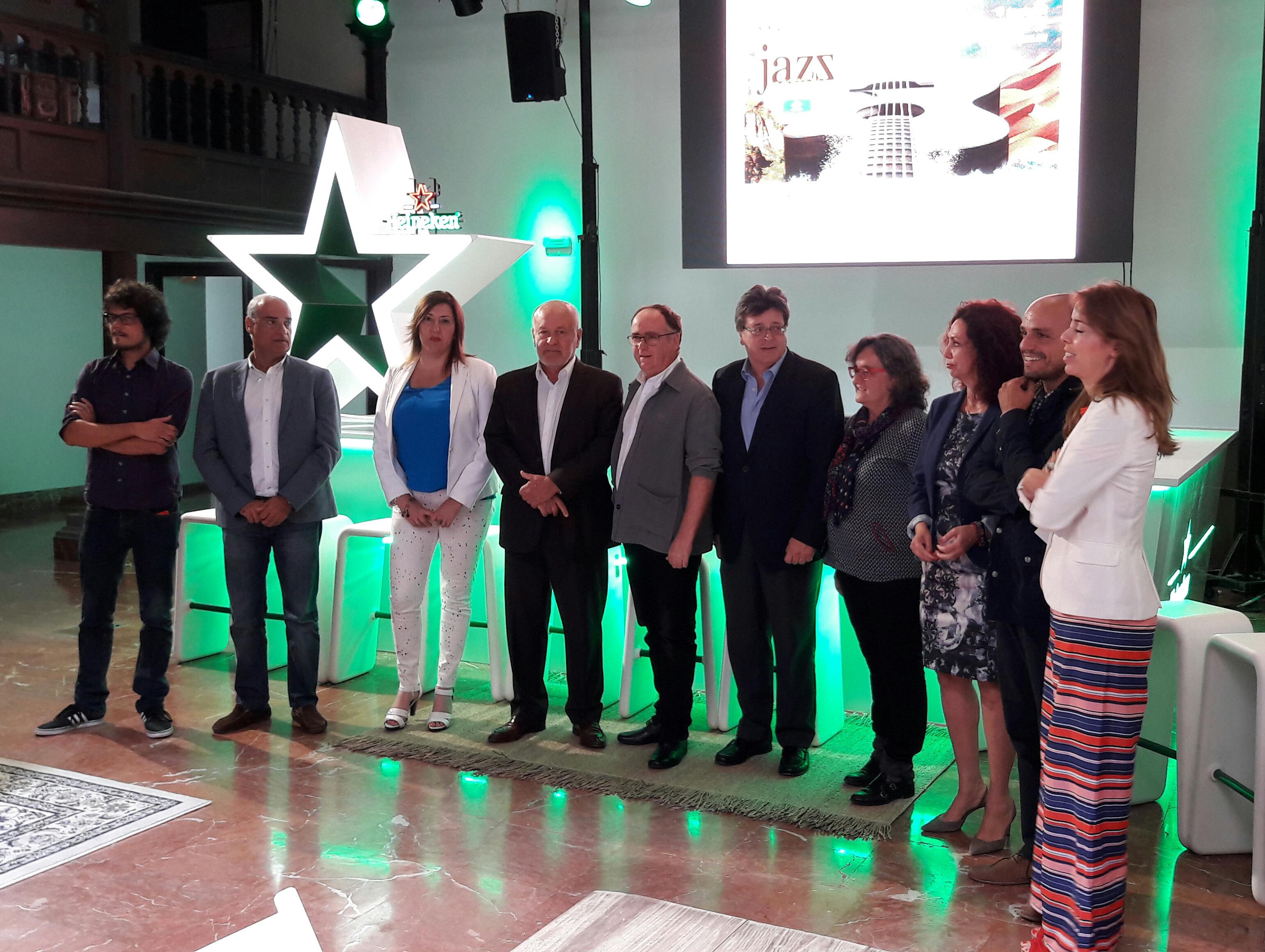 Presentada la nueva edición del Festival Canarias Jazz & Más Heineken