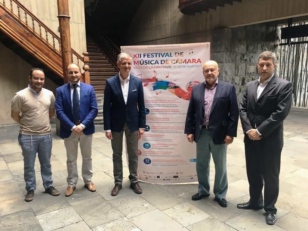 La Joven Orquesta de Canarias, novedad del Festival de Música de Cámara de La Orotava