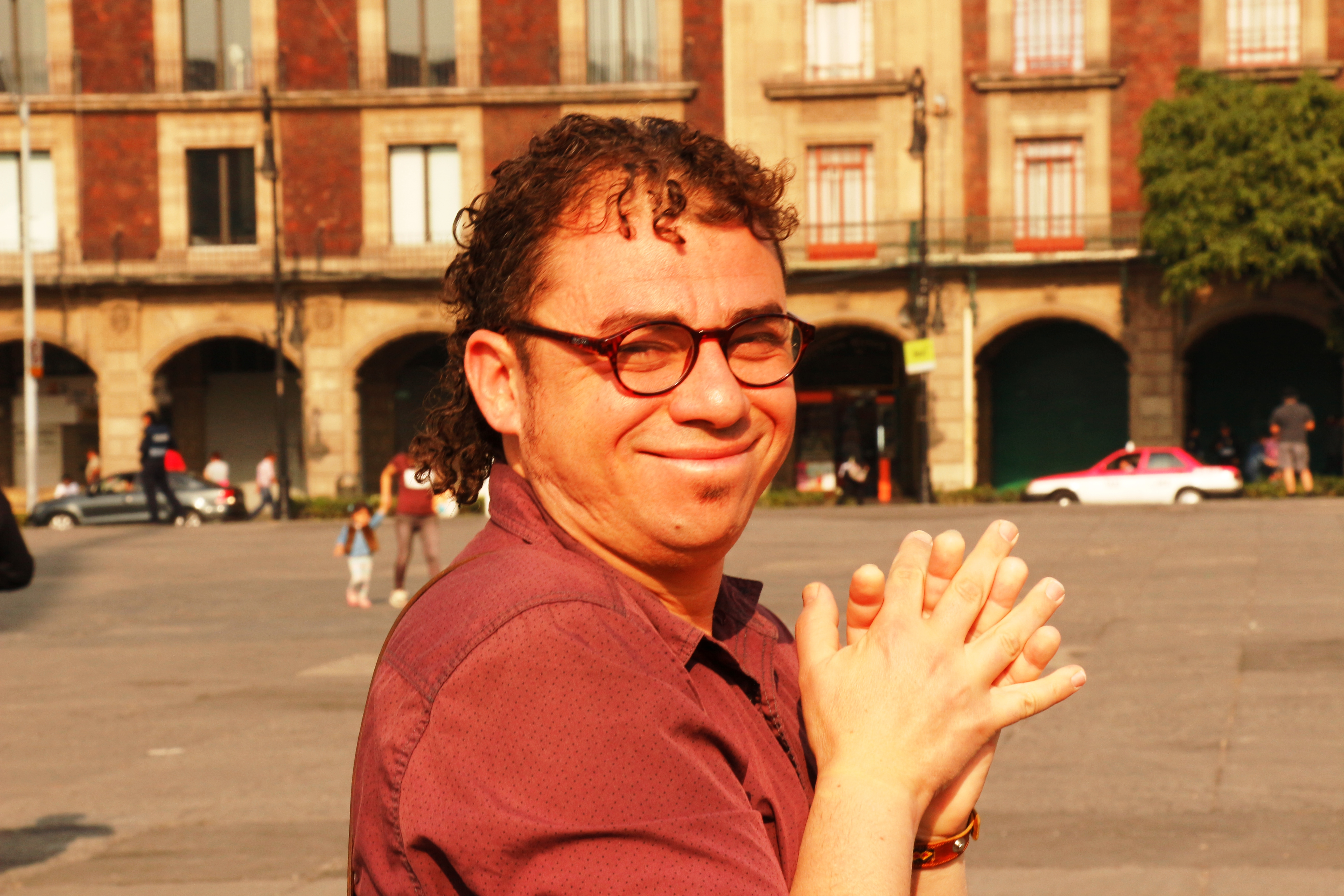 El poeta canario Samir Delgado invitado en el Festival Internacional Kerouac de Ciudad de México