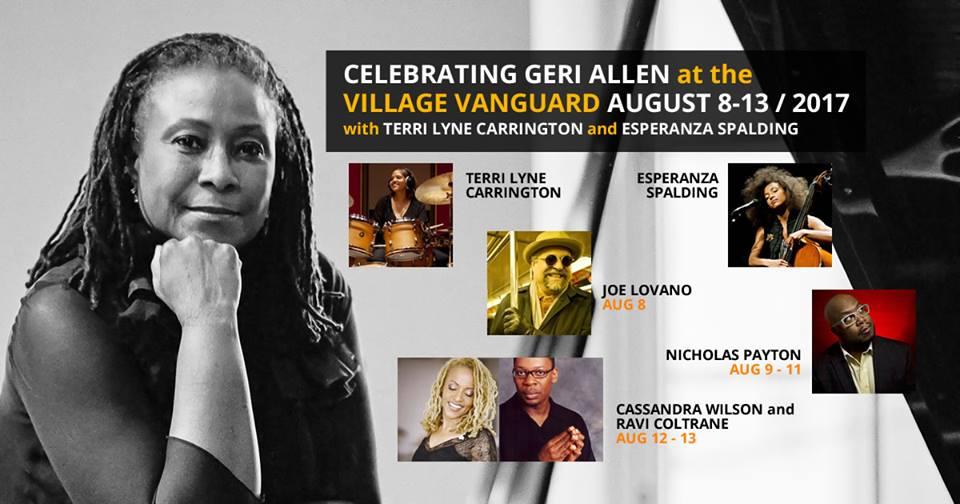 Tributo a Geri Allen en el Village Vanguard