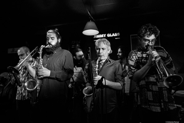 Bogui e Intruso Bar coproducen Perico Sambeat Ensemble Plays Zappa