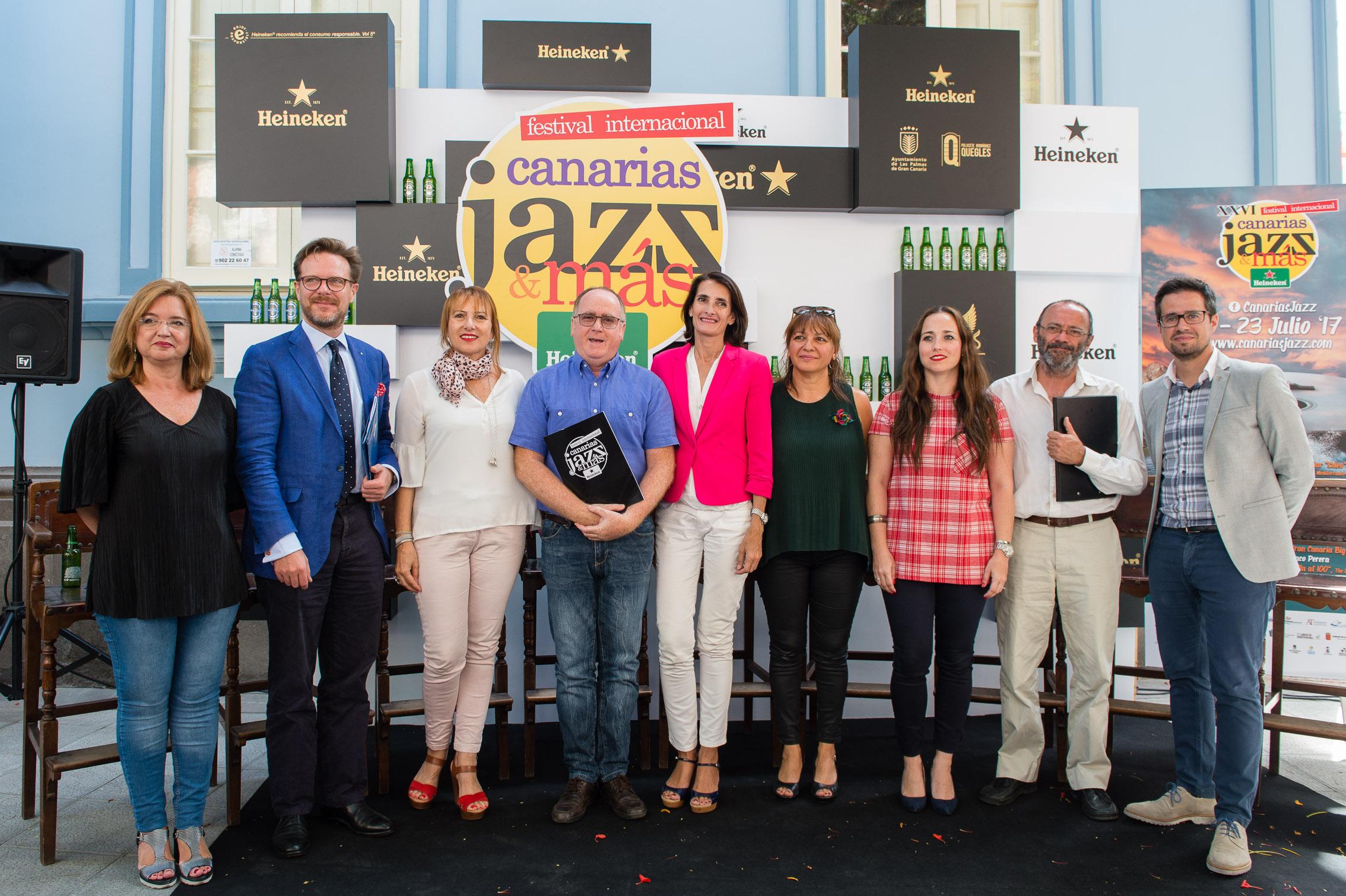 El Festival Canarias Jazz & Más Heineken arranca el viernes