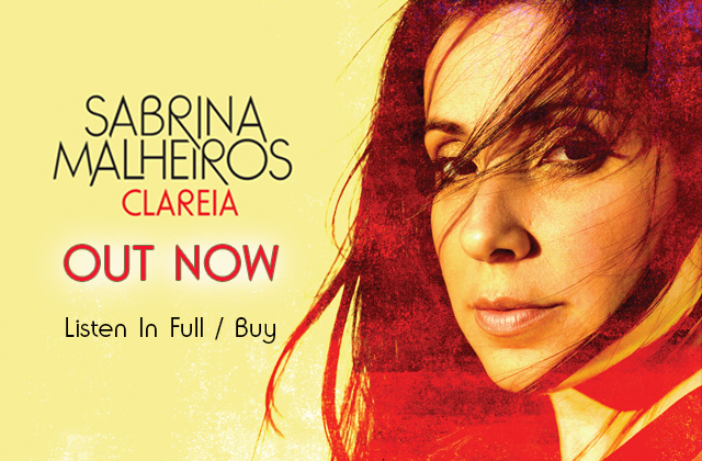 Clareia es el nuevo disco de Sabrina Malheiros