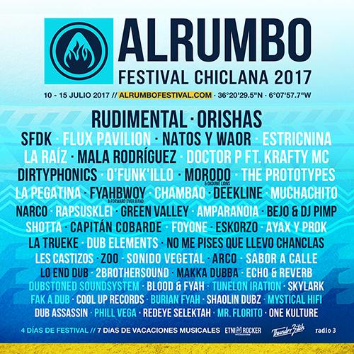 Alrumbo Festival en Chiclana, suspendido