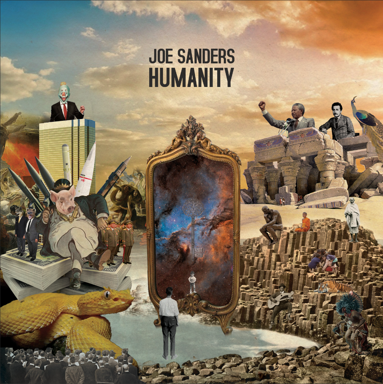Joe Sanders publica el disco Humanity