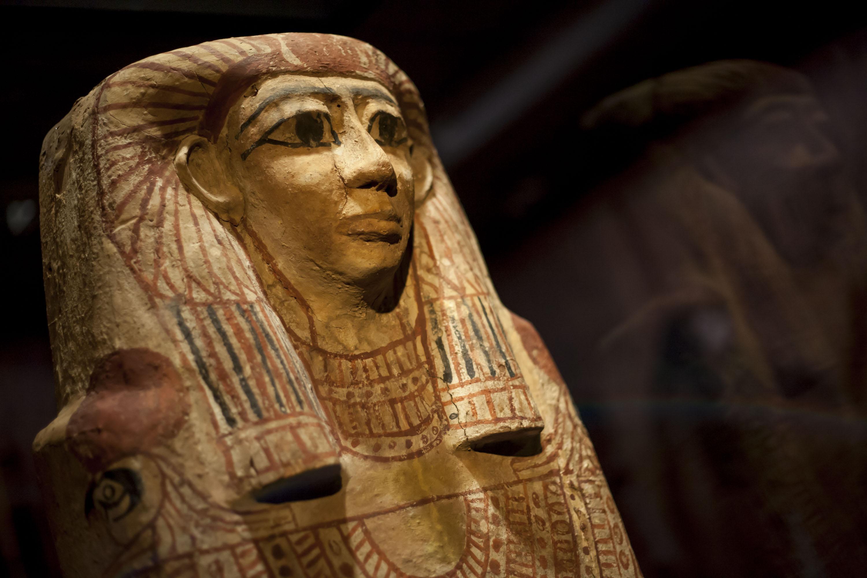 La Fundación CajaCanarias inaugura la muestra Egipto. En busca de la eternidad