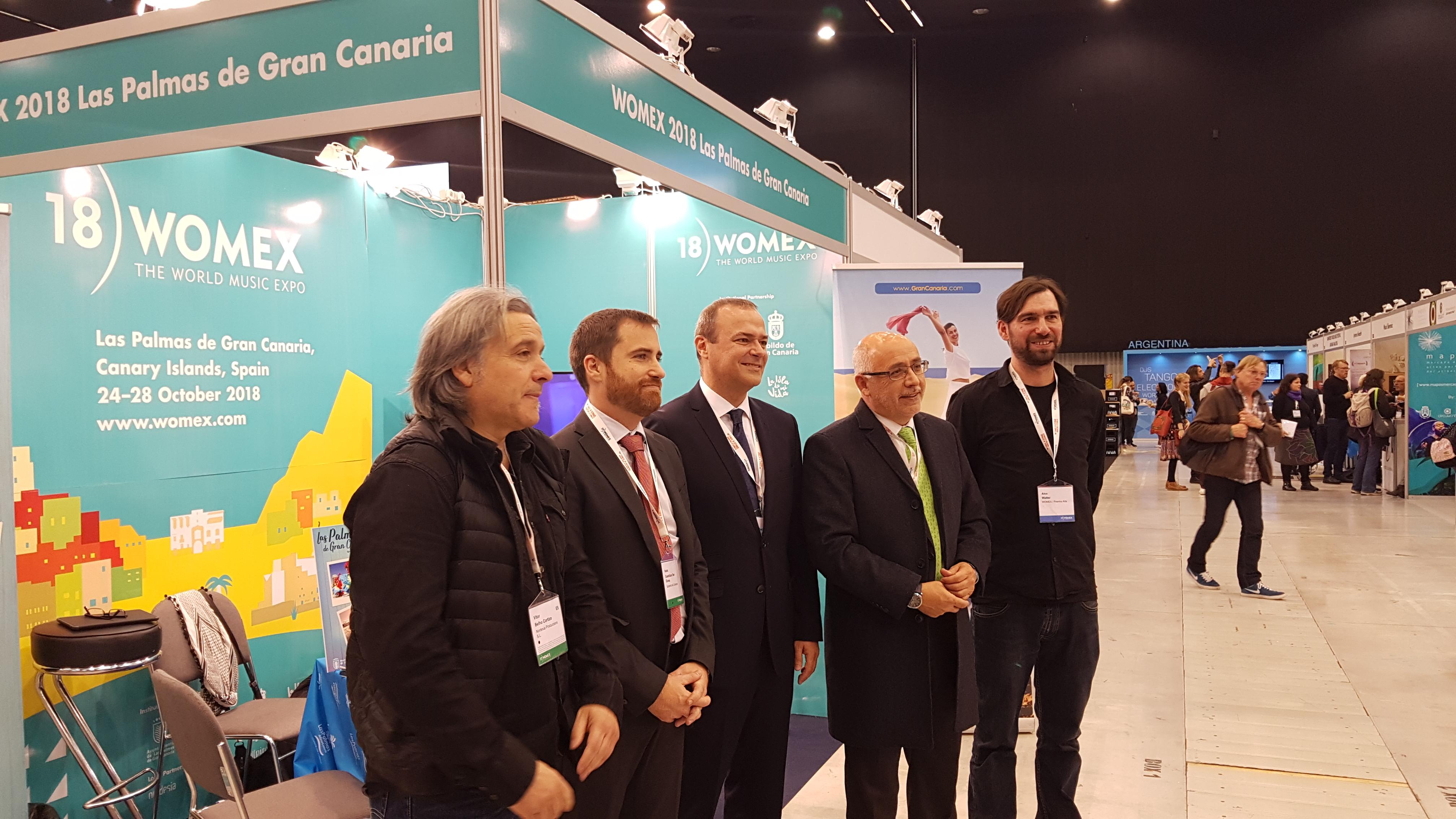 Las Palmas de Gran Canaria toma el relevo de Katowice para Womex 2018