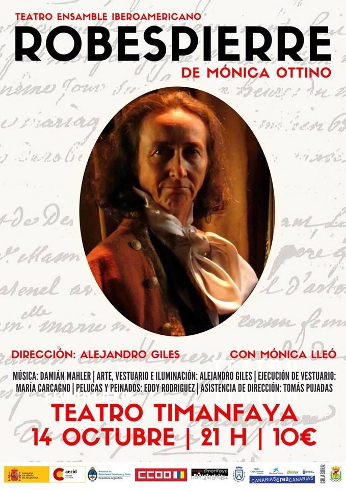 Robespierre, en el Teatro Timanfaya