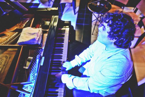 Juan Sebastián Vázquez, en el Bogui Jazz
