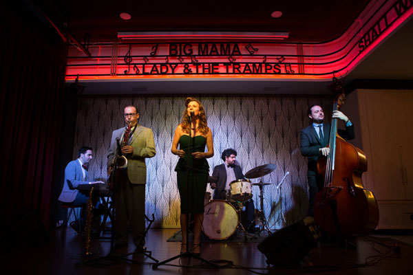 Lady & The Tramps presentan Tribute to Miss Peggy Lee