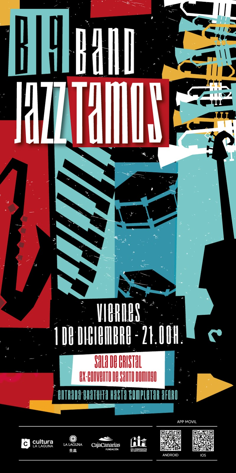 Big Band Jazz Tamos, en La Laguna