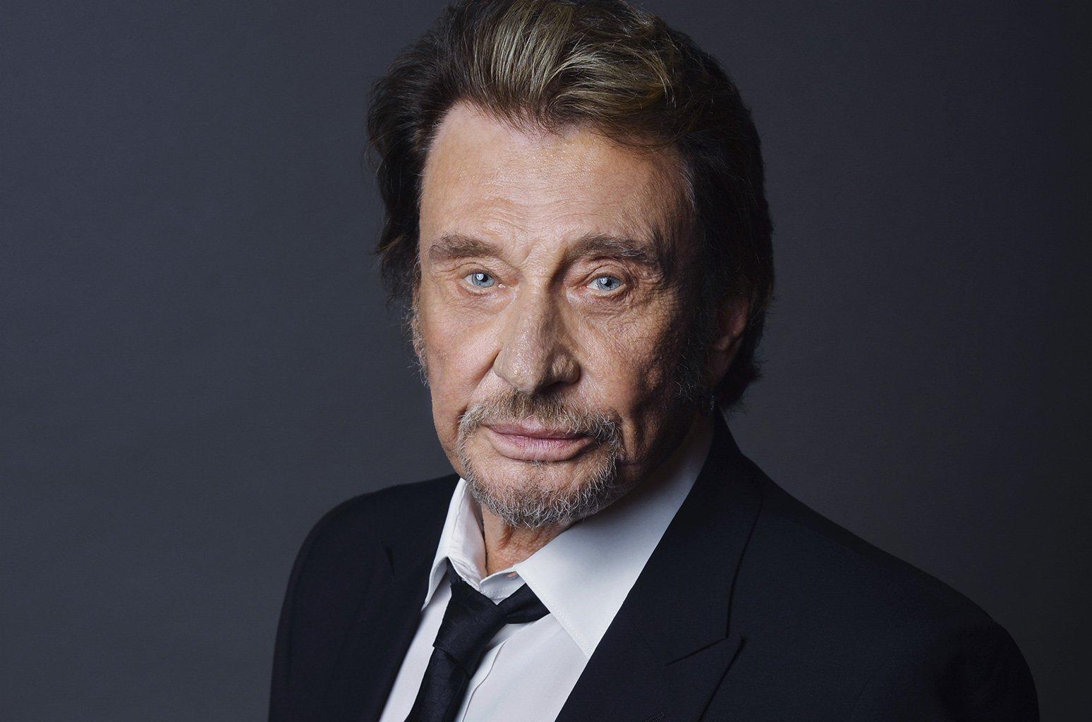 Muere Johnny Hallyday, mito en Francia