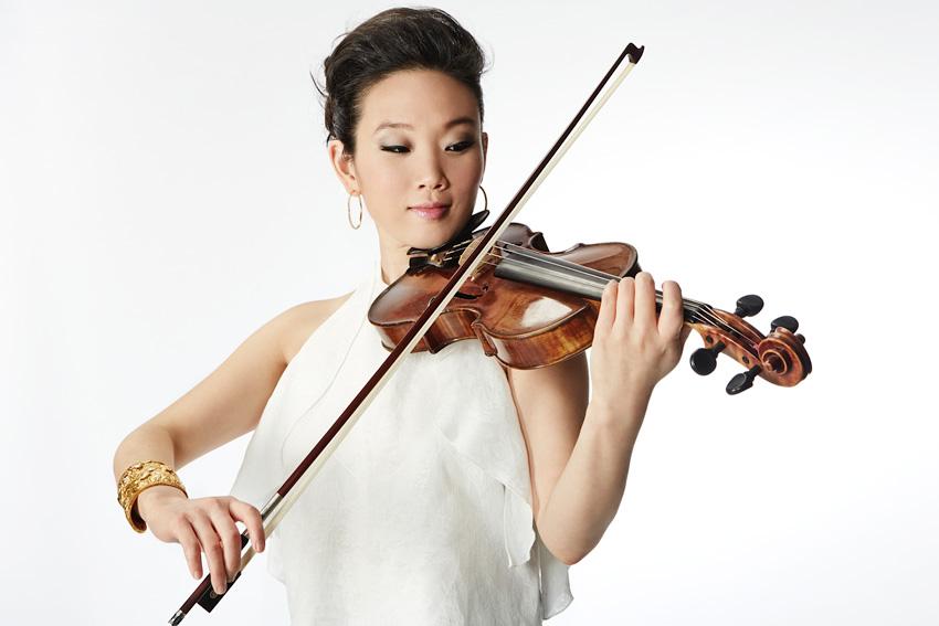 El violín de Maureen Choi, en Bogui