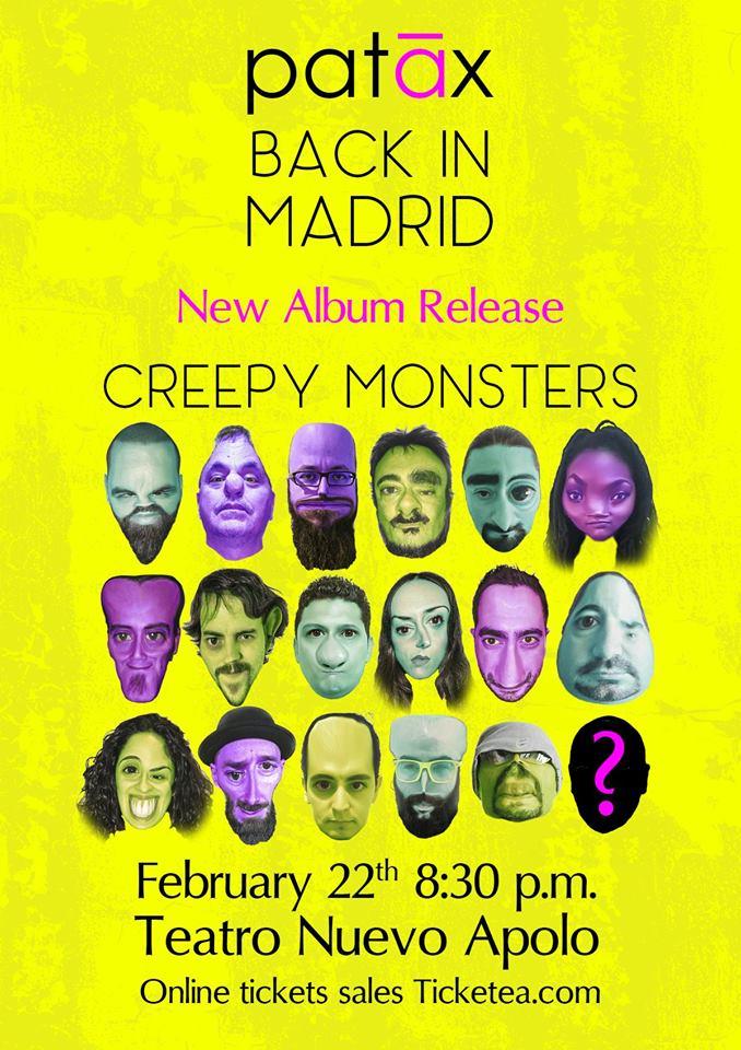 Patax presenta su nuevo disco en Madrid