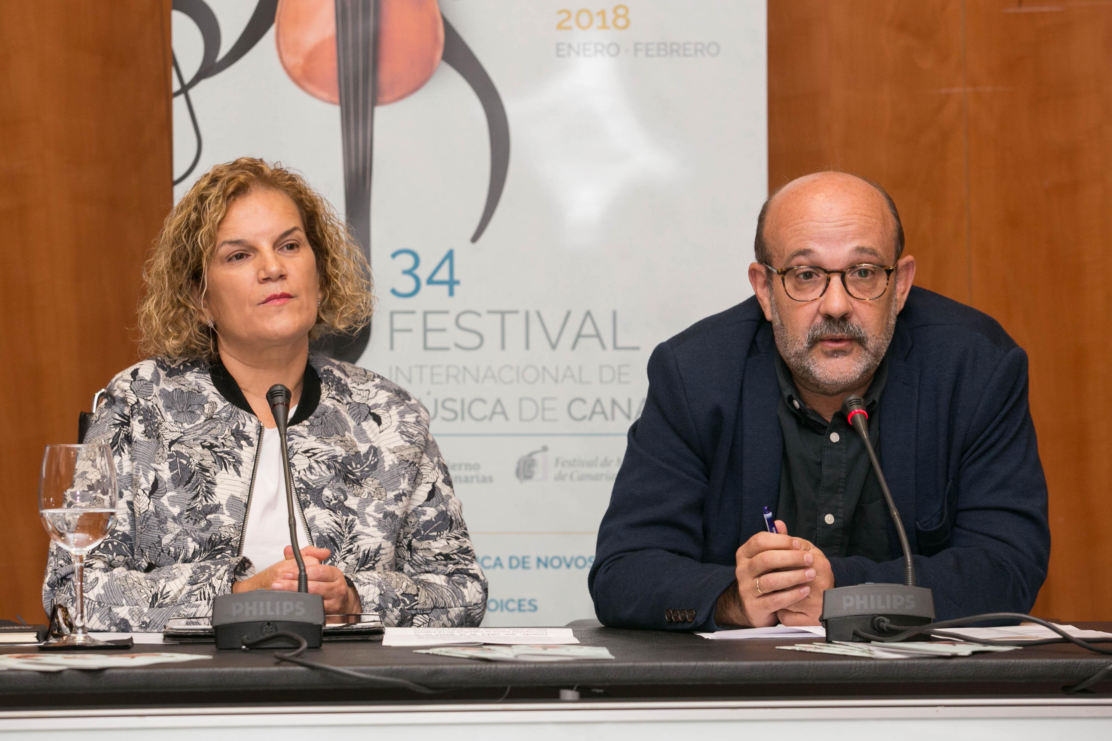 Inauguración del 34 Festival de Música de Canarias en Tenerife