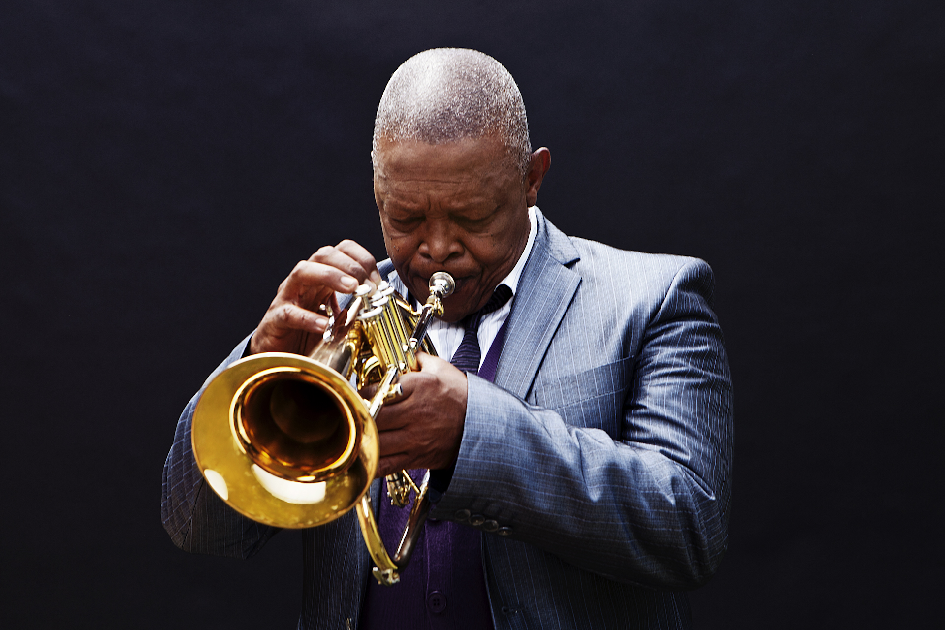Fallece el trompetista Hugh Masekela