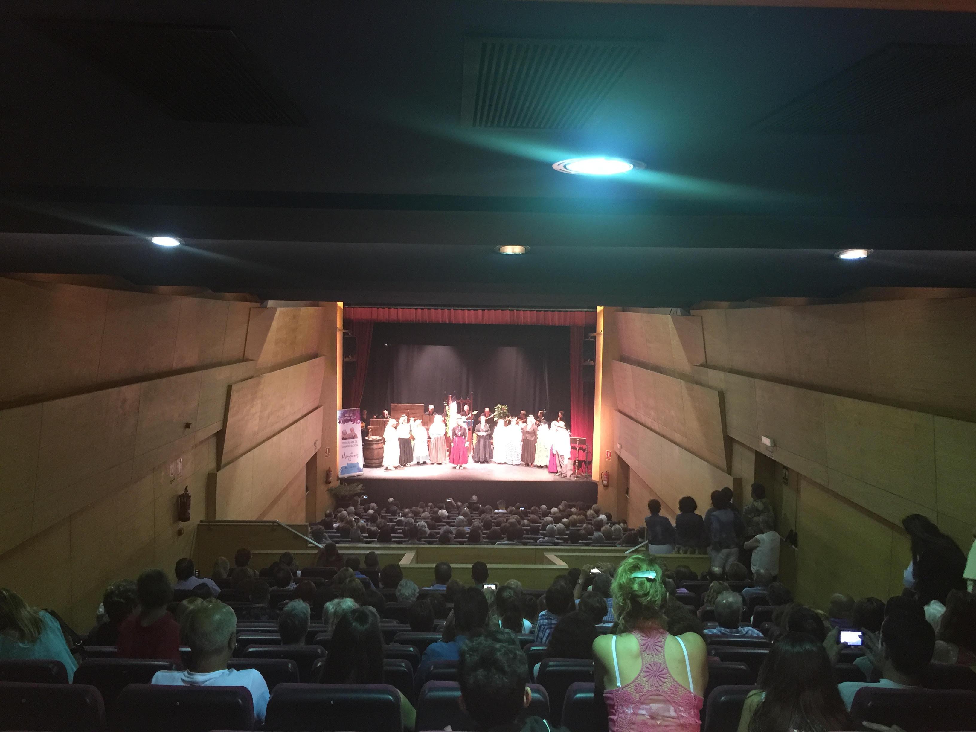 El Teatro Unión Tejina recibe alrededor de 10.000